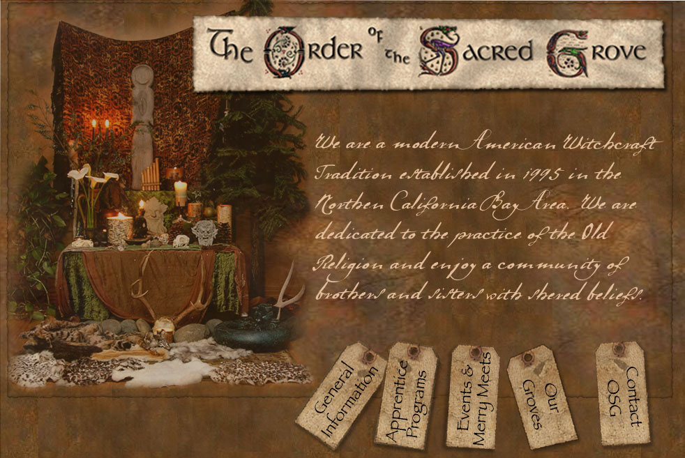 The Order of the sacred Grove